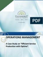 O.M. Presentation Presentation - Unitedworld School of Business