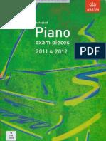 Abrsm PiaAbrsm Piano Grade 2 no Grade 2 2011 2012
