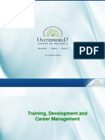 Training and Development Presentation - Unitedworld School of Business