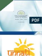 Unnati Presentation - Unitedworld School of Business