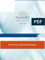 Working of barcode reader Presentation - Unitedworld School of Business