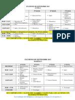 CALENDARIO-EXÁMENES-SEPTIEMBRE2013(SIN-DEPARTAMENTOS)