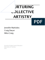 Nuturing Collective Artistry MEd Capstone, Craig, Markides, Dwyer