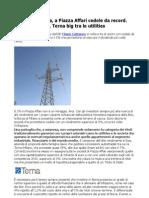 Flavio Cattaneo a Piazza Affari Terna big tra le utilities (CorrierEconomia)