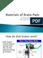 Materials of Brake Pads