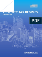 Property Tax Regimes Europe