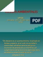 Riesgos Ambientales (i)