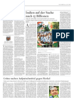 My story on India's anti-corruption movement (in German) DIE WELT 4.7.13