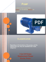 Types of pumpsPumps