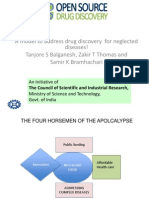 A model to address drug discovery  for neglected diseases_OSDD