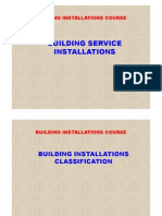Building Services Installations Course