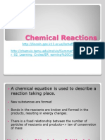 Chemical Reactiochemical_reactionsstoichiometry nsstoichiometry