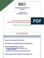 Energie Eolienne Au Maroc M. Enzili CDER 1107