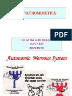 Sympathomimetics 30 31