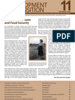 Rural development and food security