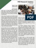 - November 2012 PHFI Research Updates