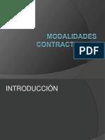 Modalidades Contractuales- Martel - Fernandez