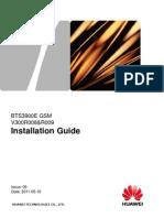 BTS3900E GSM Installation Guide-(V300R008&R009_06)