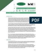 GALAAcademy2013 Brochure
