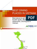 Best Dinning Places in Vietnam
