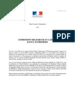 HCI Avis Laicite Entreprise PDF 2