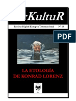 URKULTUR-Nº-18 - La Etología de Konrad Lorenz