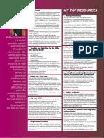 My top resources (Spr 03) paediatric dysphagia