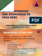 Sistem Informasi Koord Bpbd Jtm