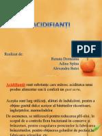 acidifianti