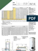 Boilere Abur Izolate Bvz-Va - Pliant Prezentare