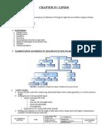 Biochem Lec s IV. Lipids
