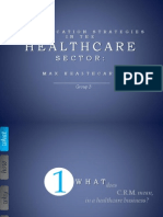 Communication strategies in healthcare sector