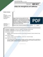 ABNT NBR 9077-Saídas de Emergência em Edifícios.pdf