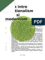 Blaga - Traditionalism vs Modernism