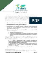 2011 Rapport Activite