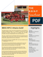THE B.B.N.P HEARTBEAT (ISSUE 2013/1)