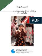 Romi i Pravo Na Zdravstvenu Zastitu u Novom Sadu