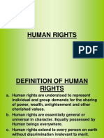 Human Rights Slids