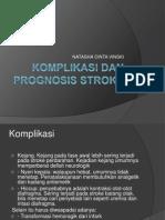 Komplikasi Dan Prognosis Haemorrhagic Stroke