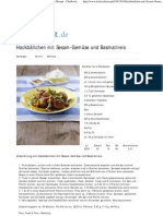 Hackbällchen mit Sesam-Gemüse und Basmatireis Rezept - Chefkoch-Rezepte auf LECKER