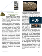 OUE Newsletter Spring 2013