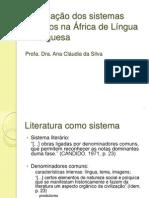 A formação dos sistemas literários na África de LP - Angola