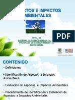 Identificacion de Aspectos e Impactos Ambientales