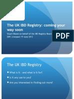 IBD Registry Presentation DDF June 2012