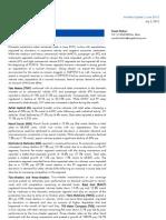 Auto Sector Update, June 2013