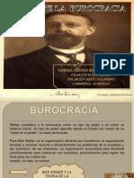 TEORIA BUROCRATICA