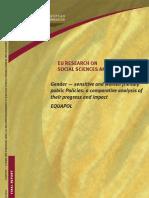 Gender — sensitive and women friendly public Policies