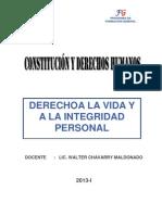 Semana 6_Derecho a La Vida y a La Integridad Personal