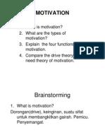Psikologi Keperawatan (Motivation#6) [Compatibility Mode]
