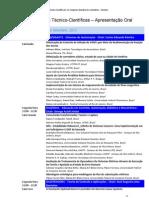 programação_CBA 2012_ORAL_v02